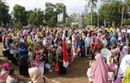 karnaval PAUD Tingkat Kabupaten Di Hadiri PLT Bupati
