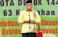 Mohammad Idris : Maulid Nabi juga dapat dijadikan momentum sebagai lahirnya peradaban manusia