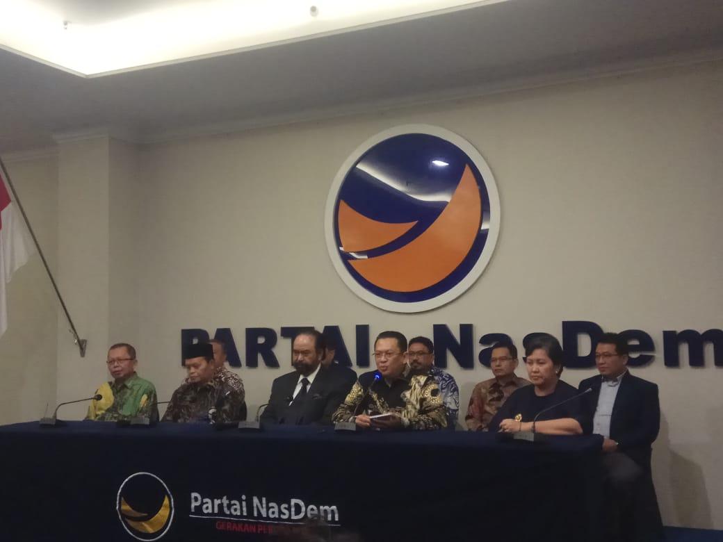 Saat Silaturahmi Kebangsaan, Surya Tanya ke MPR, Apakah Masih Ada Pancasila