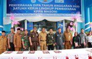 Bupati Maluku Tengah Mengapresiasi Penyerahan DIPA Tahun Anggaran 2020