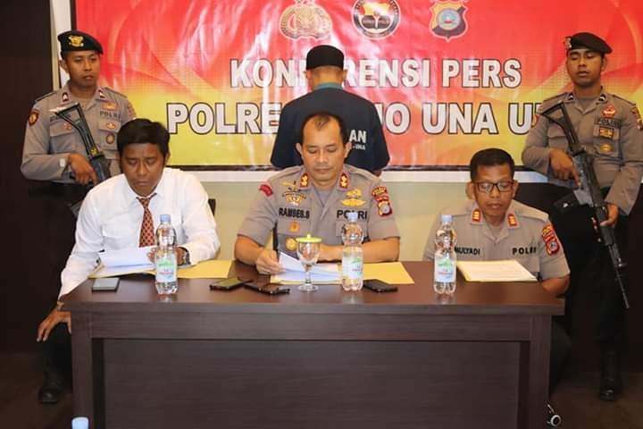Korupsi Dana Desa Ratusan Juta,Oknum Pendamping Desa di Touna Ditetapkan Tersangka