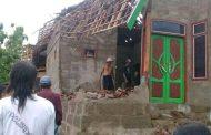 Angin Puting Beliung Kembali Menerjang Puluhan Rumah di Bondowoso
