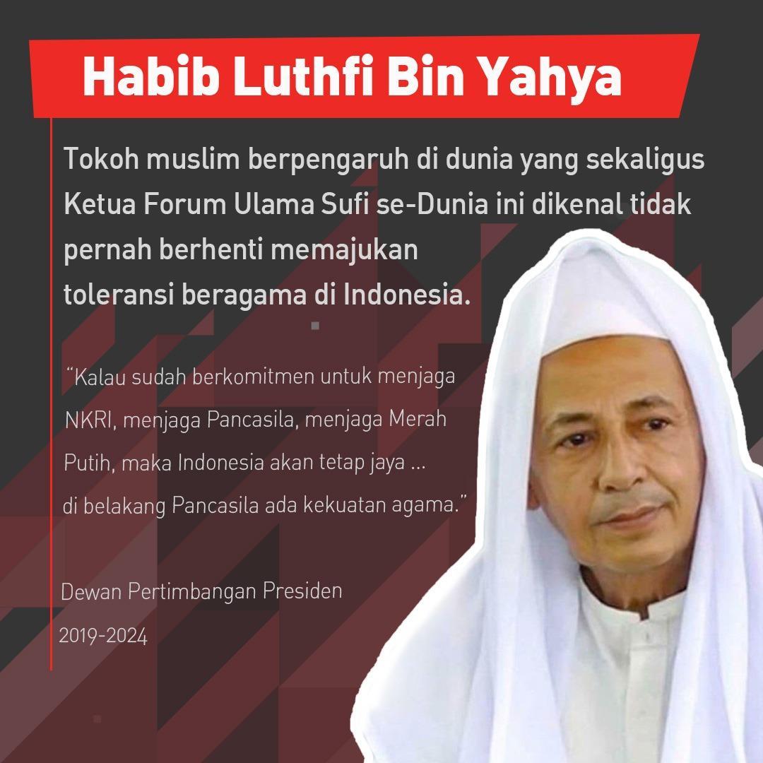 Presiden Jokowi Lantik Habib Muhammad Luthfi Ali Yahya Sebagai Anggota Wantimpres 2019 2024 Beritalima Com