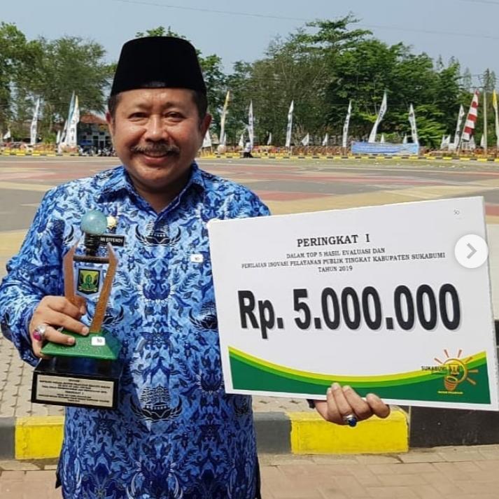 Disdukcapil Sukabumi Raih Penghargaan di HUT Korpri