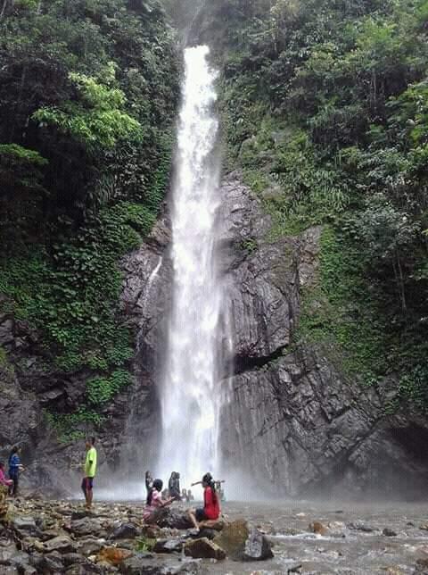 Air Terjun Balangkoyo Desa Wailab, Cocok Untuk Keluarga
