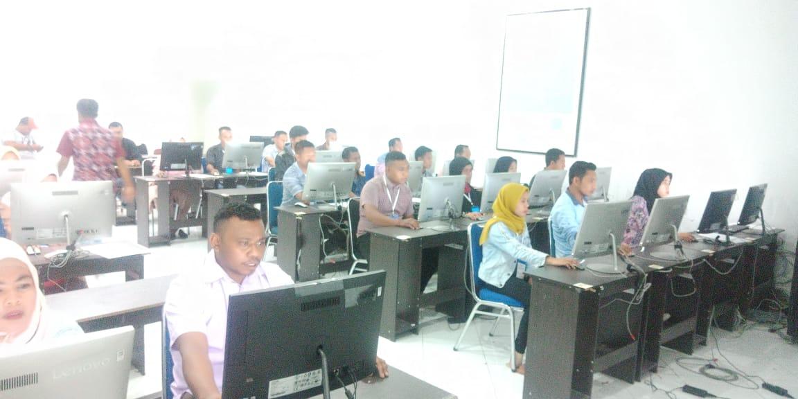 Server Error, Peserta Ujian Panwascam Tertunda 7 Jam di Kepulauan Sula