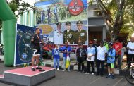 Gowes Wisata Gamalama Peringati Hari Juang TNI AD ke-74 dan Hari Jadi TERNATE ke-769 Tahun
