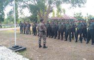 30 Tamtama Infanteri Kodam XVI/Pattimura Kunjungi Satgas Pamrahwan Maluku