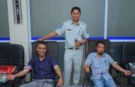 Menyambut Ulang Tahun ke – 59, Jasa Raharja Cabang NTT Gelar Donor Darah