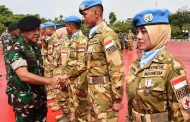 Panglima TNI: Negara Sangat Menghargai Keberhasilan Satgas RDB TNI Konga XXXIX-A MONUSCO