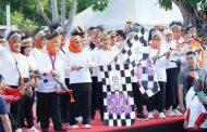 Berita Foto:  Panglima TNI Ikuti Jalan Sehat Keluarga Indonesia 2019