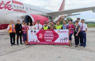 Penerbangan Perdana Batik Air Rute Timika – Jayapura