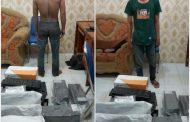 Polisi Tangkap 2 Pencuri Inventaris SMPN 8 Langsa, Sementara 1 Pelaku Kabur.