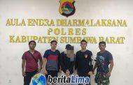 Polres KSB Ungkap Kasus Pencurian Dana Gempa Puluhan Juta