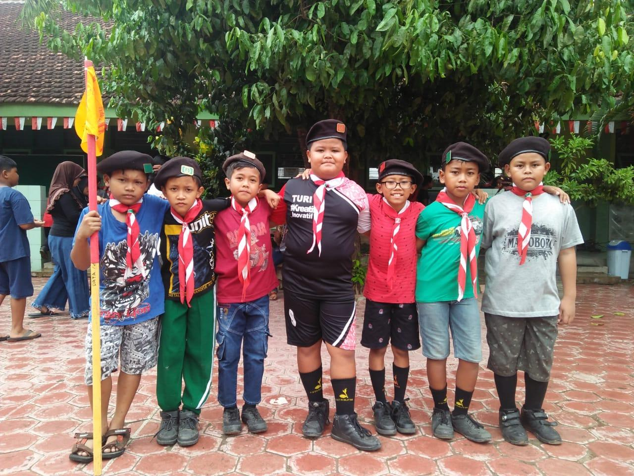 Pramuka Penggalang SDN Karangsari 2 Kota Blitar Gelar Scout Challenge