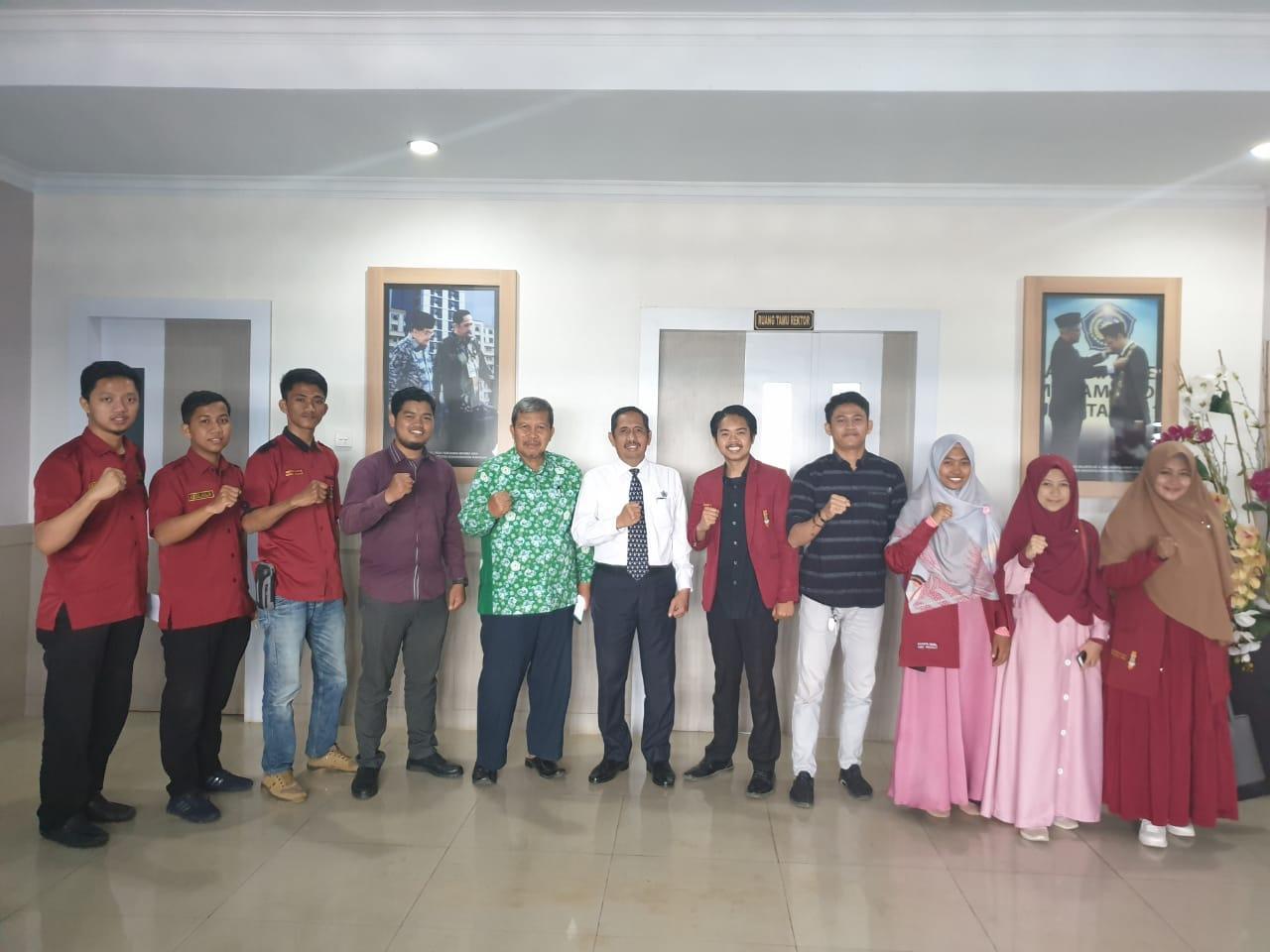 Rektor Unismuh Makassar Terima Silaturrahmi Pengurus Cabang  IMM Makassar