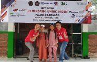 Santuni PKBM Al Falah, IKA UB Kampanyekan 'Plastik Kadit Mbois'