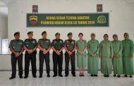 Serah terima Jabatan Perwira Kodim 0209/LB Tahun 2019