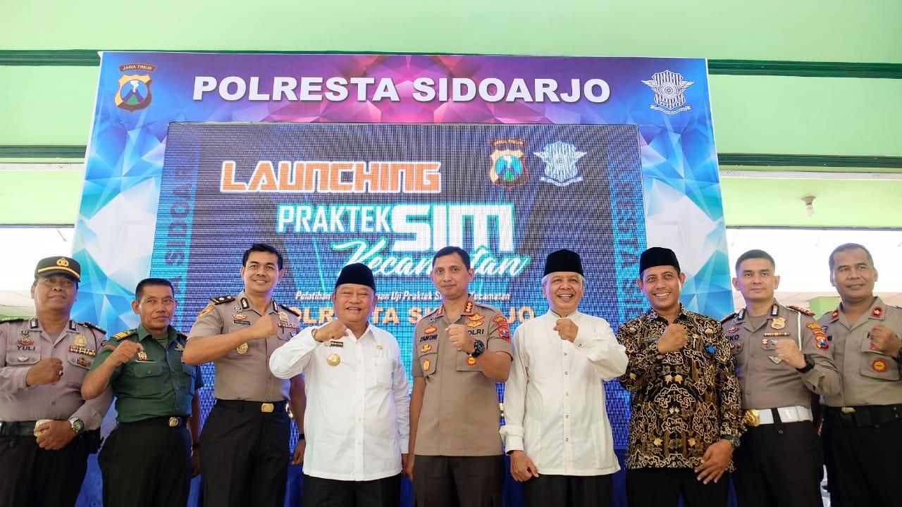 Sukses Terobosan Baru Kapolresta Sidoarjo, Praktik SIM Kecamatan