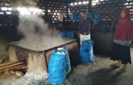 Tanoh Anoe Jangka Penghasil Garam Dapur Terbesar di Aceh