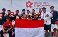 Team Sepak Bola SOINA Jateng Raih Medali Emas Asia Pasific SEA Unified 5-A