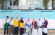 Mahasiswa Unismuh Makassar KKN Internasional di Thailand Selatan