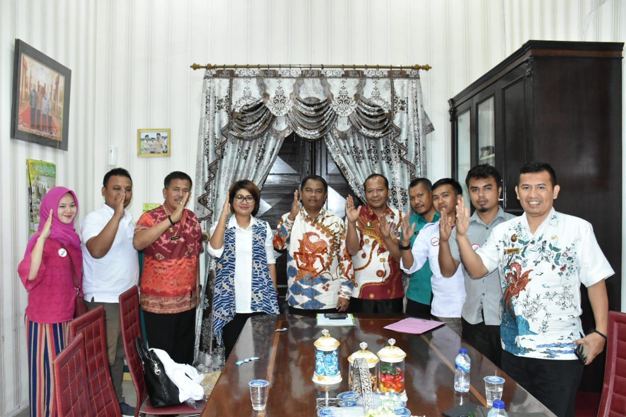 Wabup Sergai Darma Wijaya Terima Audensi DPD Rumah Aspirasi Milenial