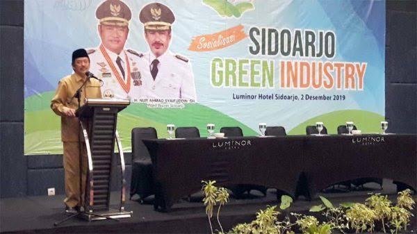 Wabup , Buka Sosalisasi Green Industri di Ikuti 160 Perusahaan