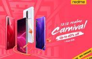 Realme hadirkan 12.12 realme Carnival dengan tawaran harga Terbaik serta diskon hingga 60%