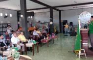 Ketua DPW PBB Malut, membuka MusCab V Partai PBB Kepsul