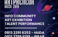 BeritaLima Jadi Media Partner Artpreneur Week 2019
