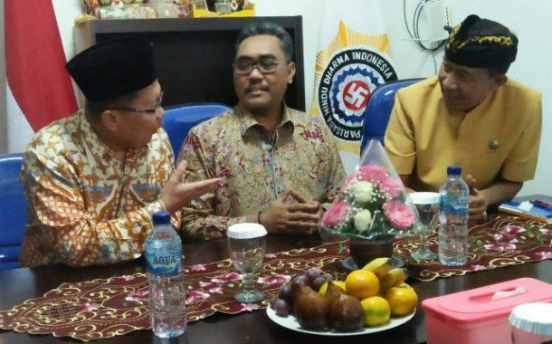 Pimpinan MPR RI Silaturahmi dan Serap Aspirasi Masyarakat Hindu ke PHDI