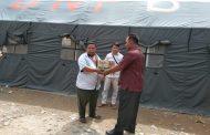 SMA Negeri 1 Na IX-X Salurkan Bantuan Kepada Keluarga yang Terkena Musibah Banjir Bandang