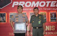 Polres Bondowoso Dapat Penghargaan dari BKSDA III Jatim, Atas Keberhasilan Ungkap Karhutla TWA Ijen