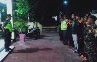 Cipta Kondisi, Kapolsek Saronggi Rutin Gelar Patroli Malam Minggu