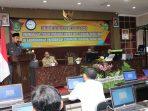 Wakil Bupati Sumenep, Achmad Fauzi membuka secara pelaksanaan tes CPNS tahun 2020