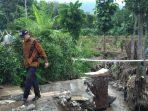 Ketua DPRD Kabupaten Malang Didik Gatot Subroto Saat meninjau lokasi