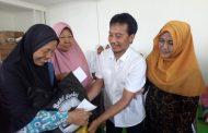 Keluarga Jamaah Sholawat Wahidiyah Santuni Yatim dan Dhuafa