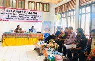 Komisi I DPRD NTT pantau persiapan Pilkada di tiga kabupaten daratan Timor