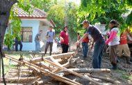 Pimpin Kerja Bakti di Sukolilo dan Tinjau Rumah Pompa