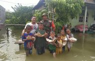 Pondok Wong Bodho  Bantu Korban Banjir  Kali Lamong