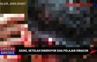 Setelah Dipukuli, Pelajar di Cianjur Dibacok