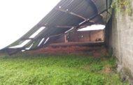 Belum Difungsikan TPSS di Kedensari Sidoarjo, Ambruk