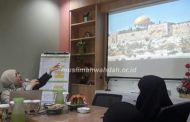 Muslimah Wahdah Bahas Program Palestina Bersama Ustadzah Isyraq Yahya Awadh Diyat