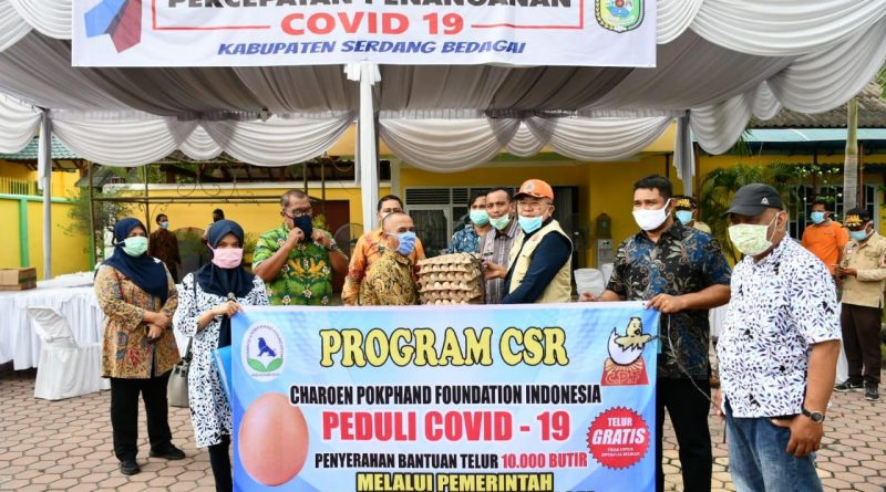Posko Gugus Tugas Covid-19 Di Serdang Bedagai Terus Mengalir Bantuan