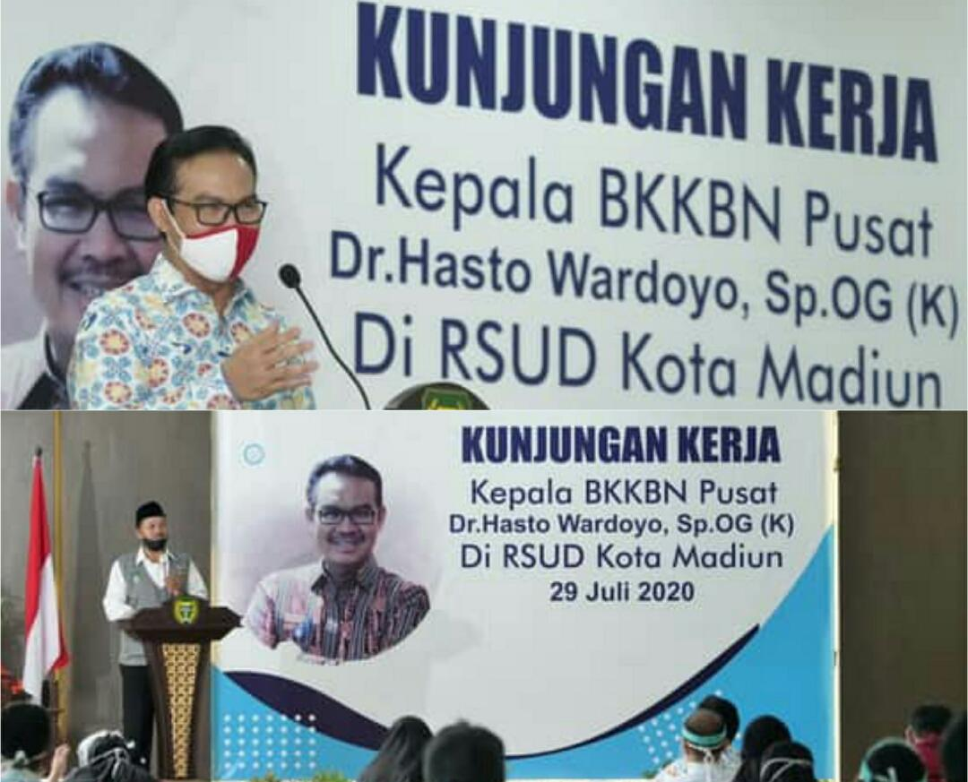 Kepala BKKBN Pusat Apresiasi Capaian KB di Kota Madiun ...