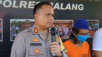Kapolres Malang Saat Rilis di Mako Polres