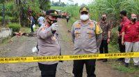 Kapolres Malang AKBP Hendri Umar Saat di TKP