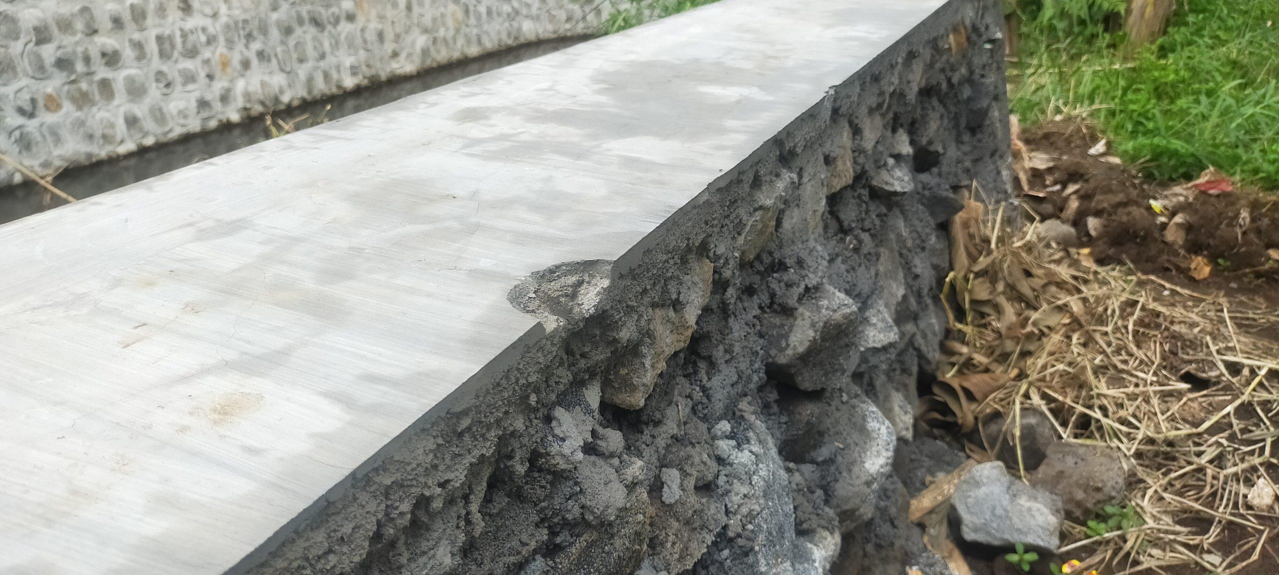 Ilustrasi Salah Satu Proyek Infrastruktur Pengairan Kabupaten Malang 2021